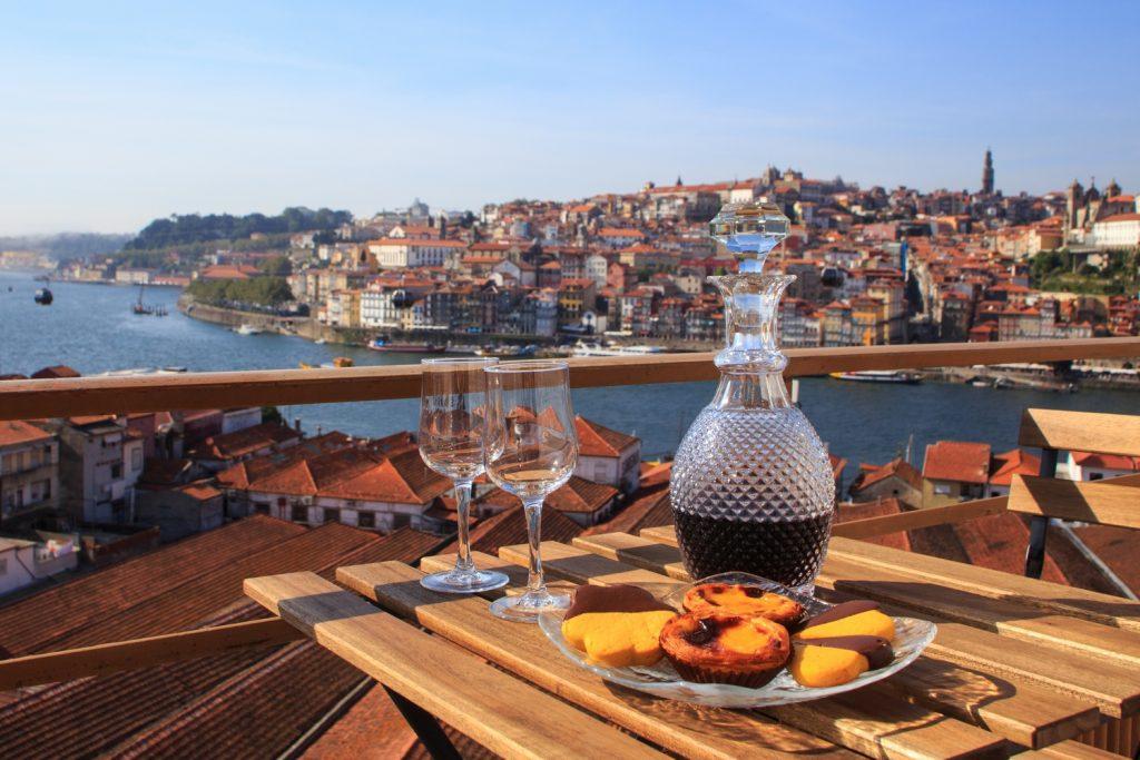 Table overlooking Porto