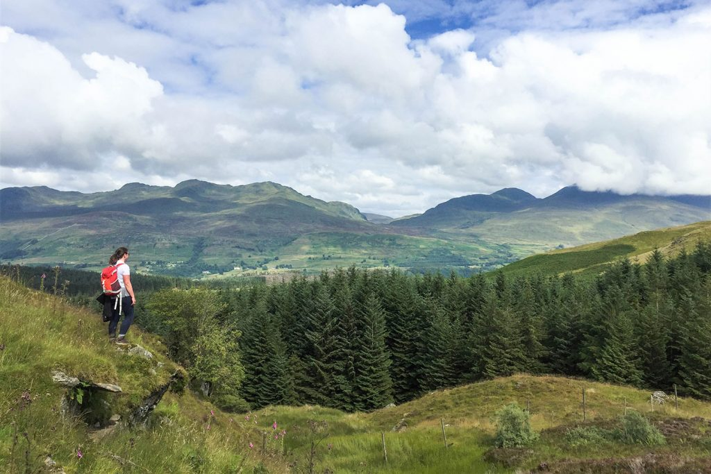 scenery on the rob roy way
