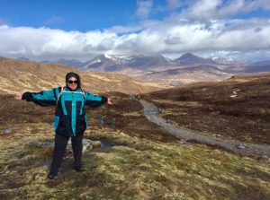 West Highland Way on the Devils Staircase