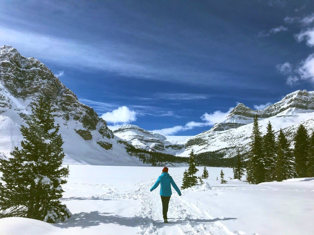 Hannah in the Canadian Rockies