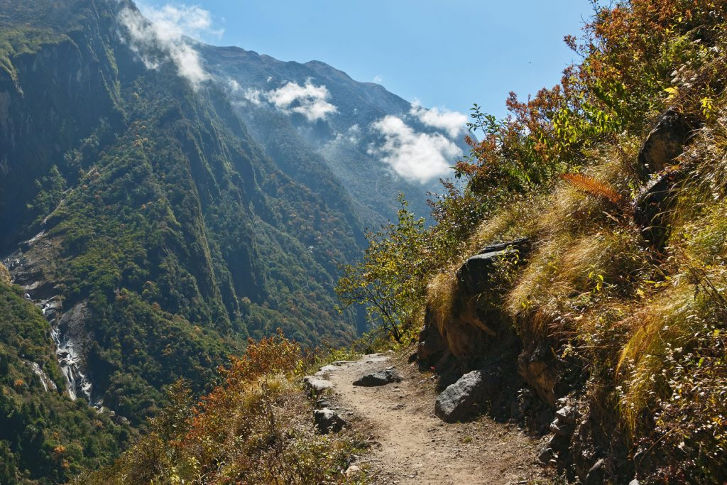 Annapurna walking trail