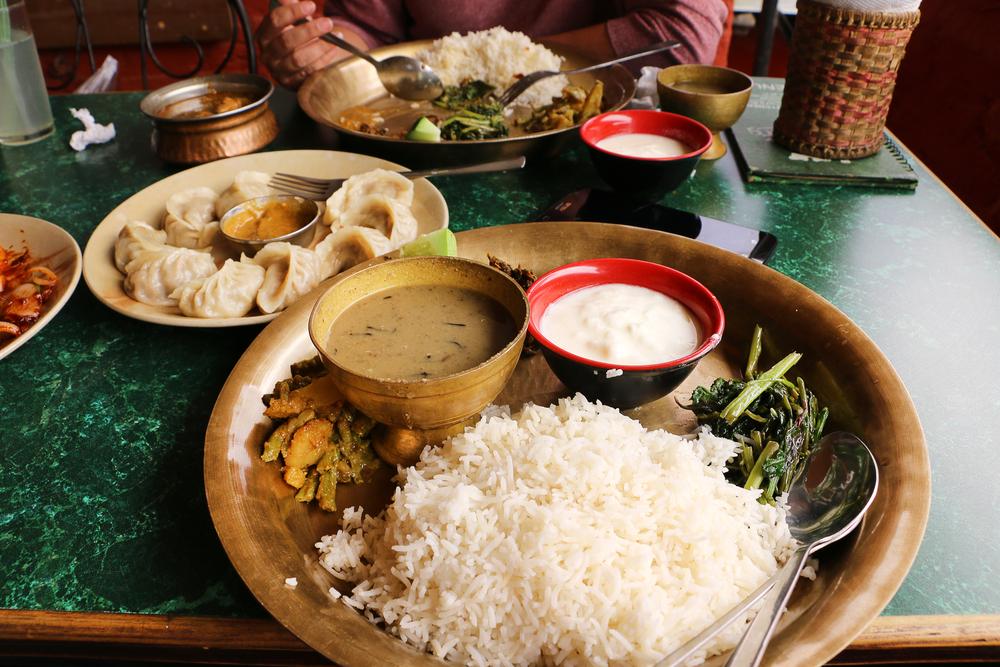 Dal Bhat Food Nepal