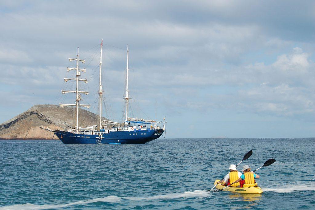 Sailboat Galapagos
