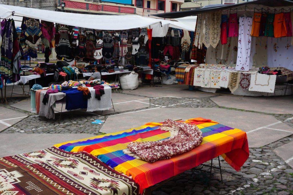 Otavolo Markets on my trip to Ecuador