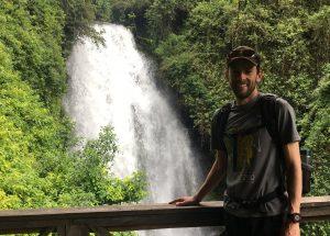 Alec in Ecuador's Highlands