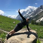 Yoga on the Tour du Mont Blanc