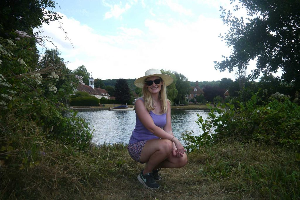 Walking the Thames Path from Henley-on-Thames to Windsor