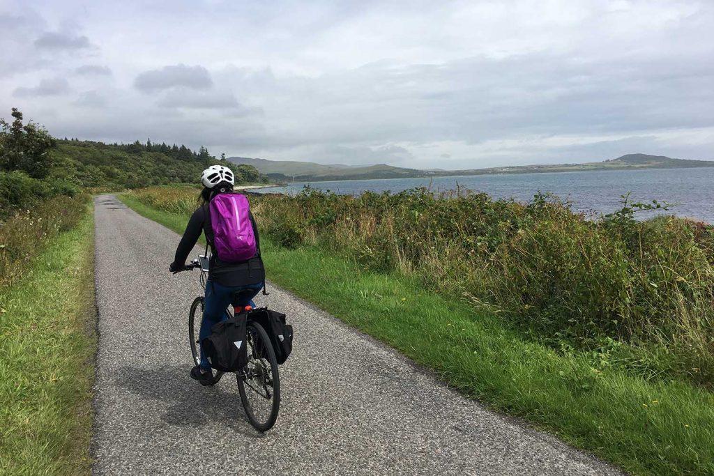 cycling on Jura