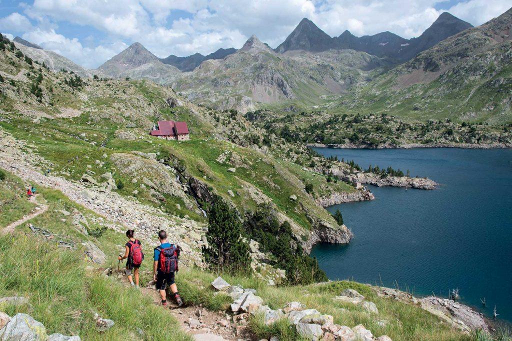 Walking through the Pyrenees