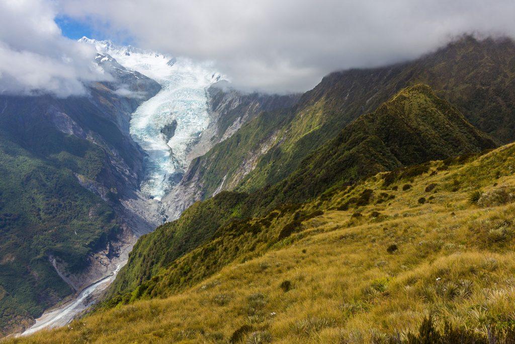 Franz Josef Glacier from Alex Knob Track