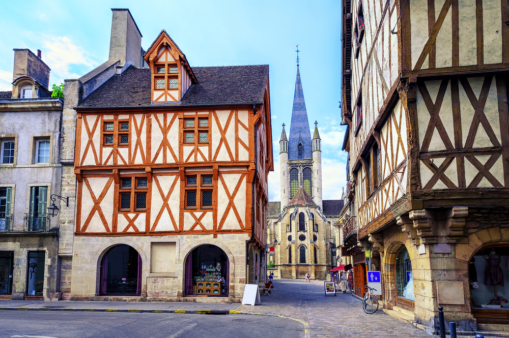 Wander the streets of Dijon