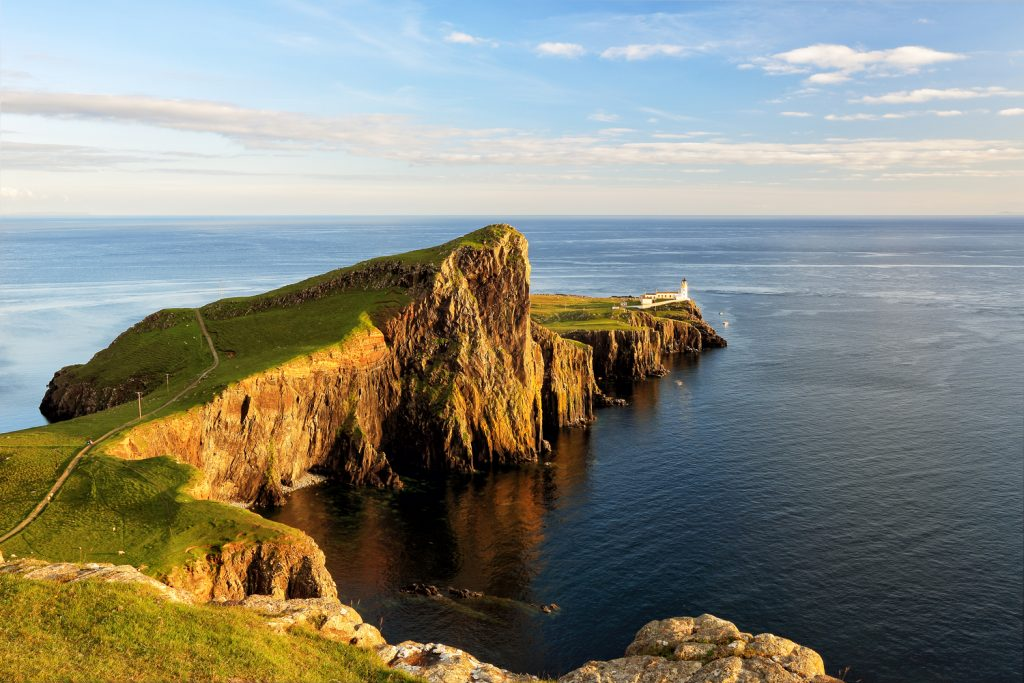 Skye's most westernly point