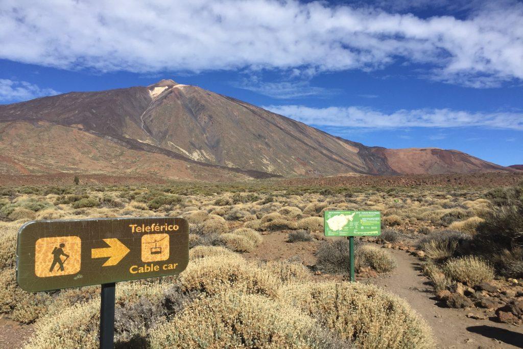 CaCanadas del Teide National Park