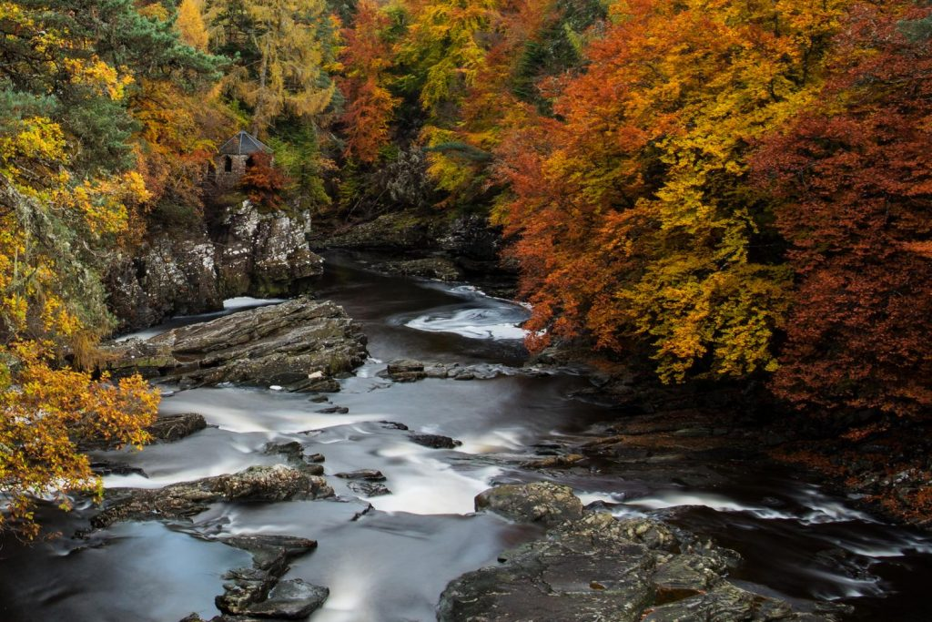 Autumn at invermoriston