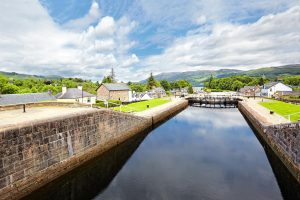 Fort Augustus Canal Lock