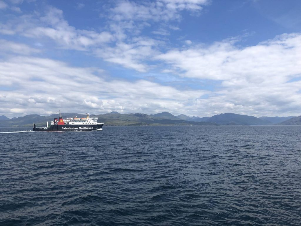 The Ferry over to Skye